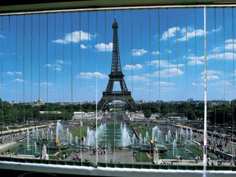 Париж фото вертикальные жалюзи,окно декор,интерьер
